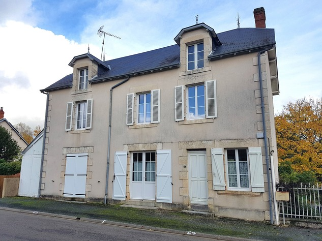 La Brenne, Indre 36: village house in very good condition 13661