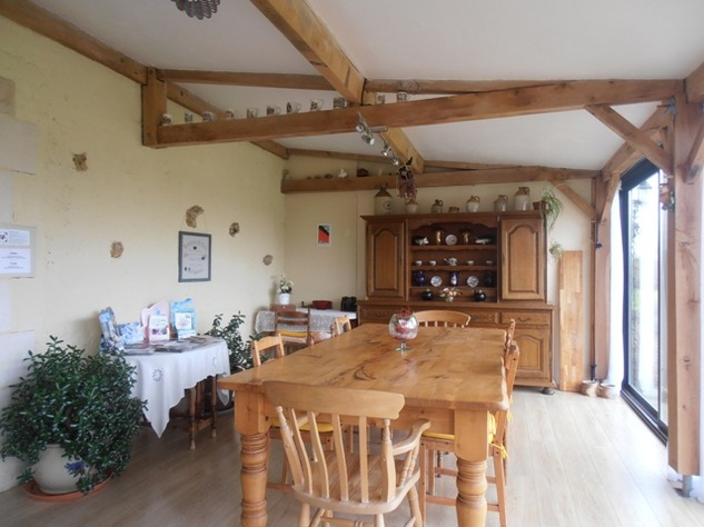 5 Bedroom B & B  or House with Gîte - set in Pretty Hamlet with Barns and Garden 4491