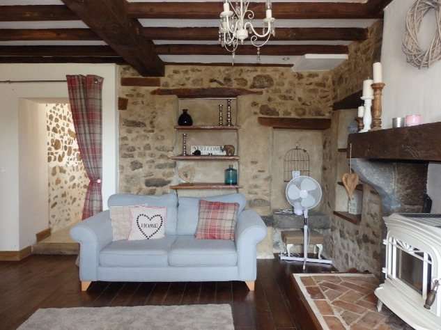 Exceptional House with Garden and Barn on the Edge of Magnac Laval 7971