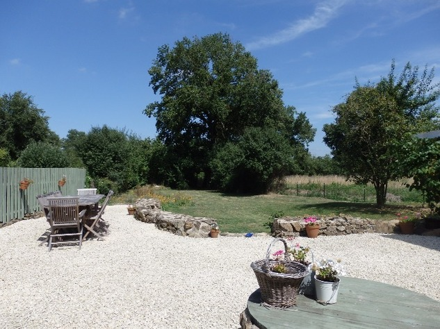 Exceptional House with Garden and Barn on the Edge of Magnac Laval 7982