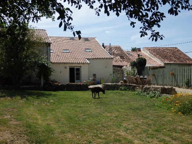 Exceptional House with Garden and Barn on the Edge of Magnac Laval 7984