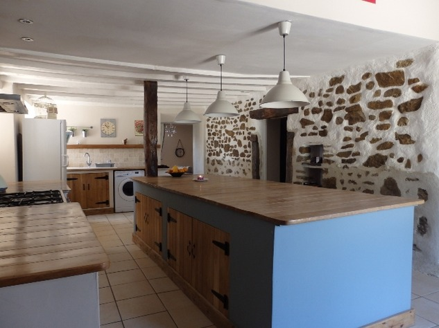 Exceptional House with Garden and Barn on the Edge of Magnac Laval 7966