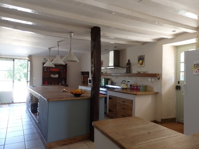 Exceptional House with Garden and Barn on the Edge of Magnac Laval 7968