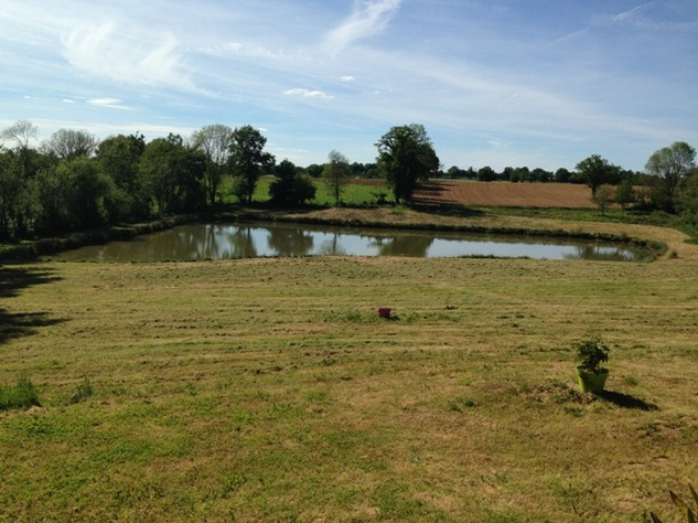 Private 3 Bed Barn Conversion, with 5.2 Acres including Lake  (Gîte/B & B Potential ) 8557