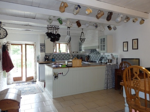 Exceptional, Fully Renovated Equestrian Home, with Beautiful Gardens and Attached Land 9464