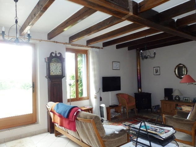 Wow! Rural Farmhouse with Breath Taking Views and Above Ground Pool near Availles Limouzine 9795