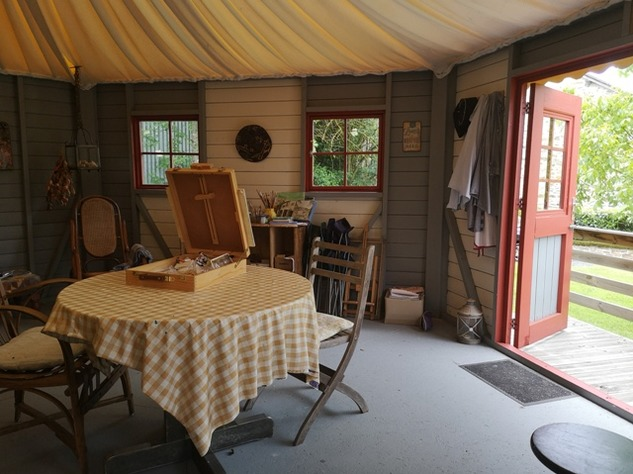 Renovated Farmhouse with Barn and Brilliant Yurt Accommodation in the Gardens 10367