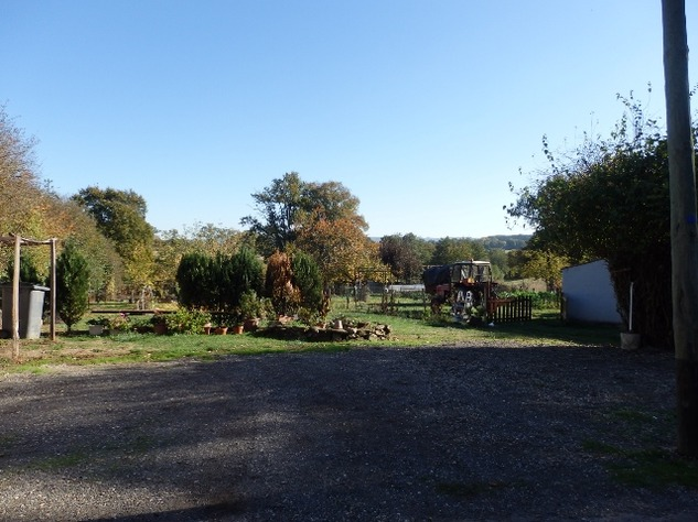 Traditional Hamlet House with Attached Garden, 2 Garages and Extra Land with Pond 10739