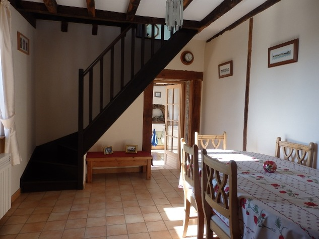 Well Renovated House in a Pleasant Hamlet – Barn/Workshop/Swimming Pool. 11392
