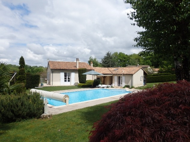 Exceptional Home with Guest Annexe and Pool in Civray-Vienne 12030