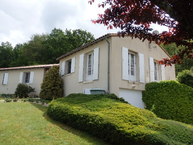 Exceptional Home with Guest Annexe and Pool in Civray-Vienne 12031