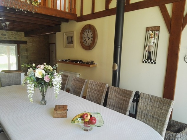 Reduced - 8 Bedroom Chambre D'hôtes/B & B near Millac in the Vienne 12896