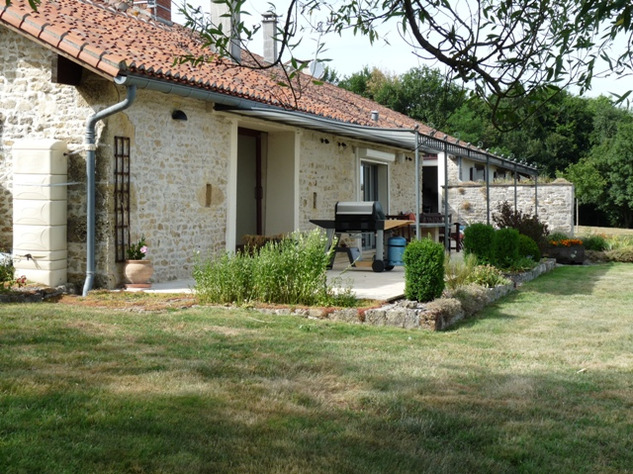 House and Gîte with Indoor Pool with Panoramic Views Near St Claud in the Charente 13806