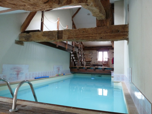 House and Gîte with Indoor Pool with Panoramic Views Near St Claud in the Charente 13818