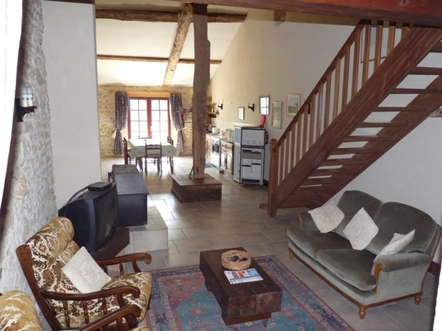 House and Gîte with Indoor Pool with Panoramic Views Near St Claud in the Charente 13820