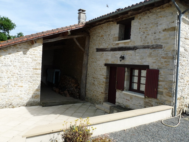 House and Gîte with Indoor Pool with Panoramic Views Near St Claud in the Charente 13821