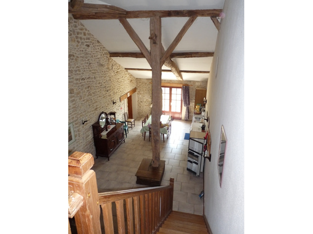 House and Gîte with Indoor Pool with Panoramic Views Near St Claud in the Charente 13824