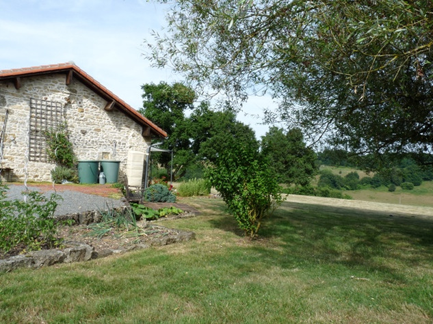 House and Gîte with Indoor Pool with Panoramic Views Near St Claud in the Charente 13825