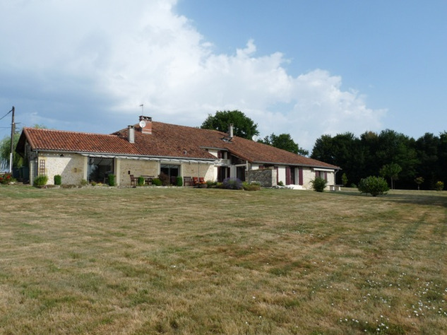 House and Gîte with Indoor Pool with Panoramic Views Near St Claud in the Charente 13827