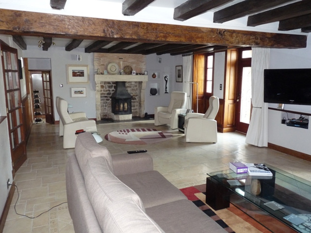House and Gîte with Indoor Pool with Panoramic Views Near St Claud in the Charente 13800