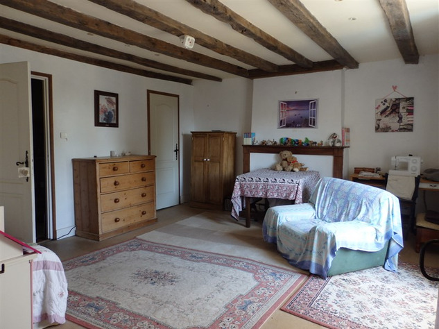 Spacious, Stone Village House for Sale in Luchapt - Vienne 14209