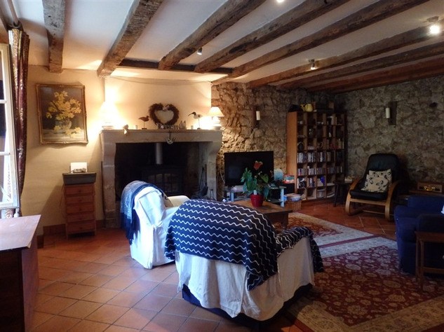 Spacious, Stone Village House for Sale in Luchapt - Vienne 14201